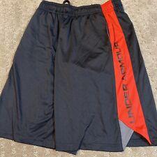 under armour shorts Boys large