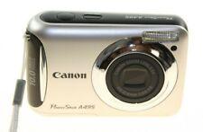 CANON POWERSHOT A495 SILVER DIGITAL CAMERA 10.0 MEGA PIXEL LITTLE CAMERA USED