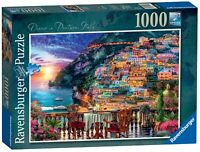 15263 Ravensburger Dinner in Positano, Italy Jigsaw Puzzle 1000pc Age 12 Years+