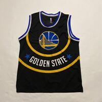Golden State Warriors NBA Mens Jersey Multicolor Black Scoop Neck XL