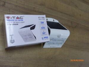 LED V-TAC VT-768 Leistung: 3  W Naturweiß Licht Reichweite: 2-6m