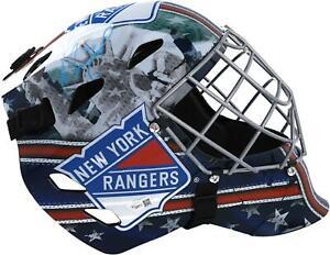 Alexandar Georgiev New York Rangers Autographed Full Size Goalie Mask