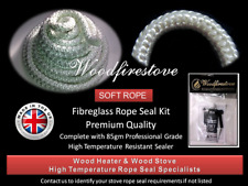 (25mm) WOOD FIRE STOVE & HEATER Fibreglass ROPE SEAL KIT 2 Metres *FREE SHIPPING
