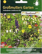 52030 Landblumen-Mix Großmutters Garten Saatband Blumenmischung Saatgut