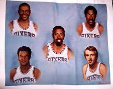 Philadelphia 76ers Canvas Print complete set VERY RARE