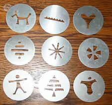 Wear-Ever Super Shooter 70001 Full set of 9 original decorating discs