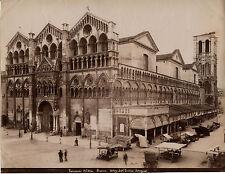 ITALIE Pistoia Ospedale Albumine Vintage albumen ca 1880