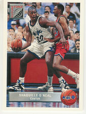 1992-93 UPPER DECK MCDONALD'S COMPLETE SET P1-P50 SHAQUILLE O'NEAL RC