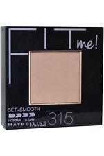 Maybelline Fit Me Pressed Powder Set + Smooth 9g Soft Honey #315 Nrmal To Dry