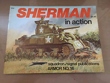 SQUADRON SIGNAL PUBLICATION 2016 - ARMOR 16 - SHERMAN