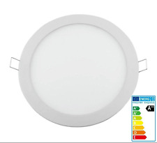 Downlight panel LED circular 20W  6000k  ILUMINACIÓN INTERIOR