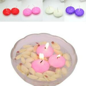 Candles Party Birthday Decoration Round Multi-color Small Wax Scented Candle LA