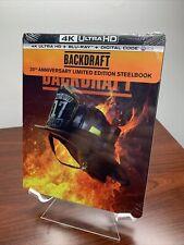 Backdraft Steelbook (4K UHD+Blu-ray+Digital) Factory Sealed