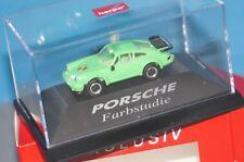 BOX24] Herpa Esclusivo - Porsche 911 Turbo - Studio Sul Colore - Verde - 1:87