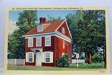 Pennsylvania PA Philadelphia Fairmount Park Penn Mansion Postcard Old Vintage PC