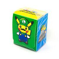 Pokemon Center Japanese XY Luigi Cosplay Pikachu 64 Card Sleeves Deck Protector