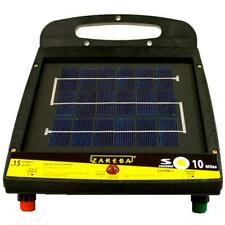 Zareba Electric Solar Fencer Low Impedance Rechargeable Battery Power Up 10 Mile