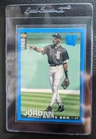 1994 UPPER DECK CHOICE BLUE MICHAEL JORDAN BASEBALL CHICAGO WHITE SOX BULLS HOF