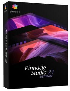 Pinnacle Studio 23 Ultimate - New Retail Box, PNST23ULEFAM