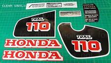 84 - 86 1986 CT110 110 trail 9pc Vintage graphics decals stickers kit 1984 1985