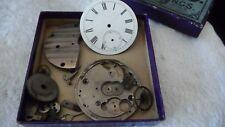 #12/3/S Antique Pocket Watch Parts No Maker