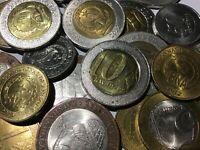100 Gramm Restmünzen/Umlaufmünzen Angola