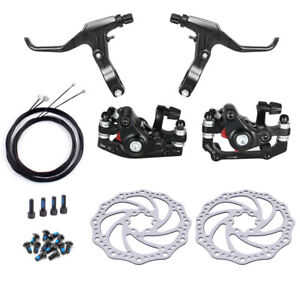 Bicycle Rear Disc Mechanical Brake Mountain Bike Front & Rear Set With 160mm