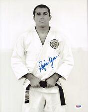 Royler Gracie Signed 11x14 Photo PSA/DNA COA UFC Pride 2 8 Jiu-Jitsu Picture K-1