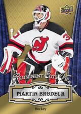 MARTIN BRODEUR Devils MVP 2016 UD National Convention Prominent Cuts VIP PROMO