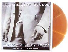 ROLLING STONES 2LP VINYL ANYBODY SEEN MY BABY - THE OFFICIAL BLACK ALBUM