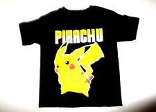 Pokemon Pikachu Shirt Youth Boy's Black Pokemon Short Sleeve Size XL 14/16 NWT