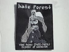HATE FOREST EMBROIDERED PATCH