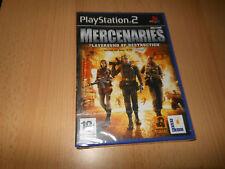 Mercenaries Playground of Destruction - Sony PS2 - UK PAL  NEW SEALED
