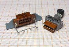 Connector 12-pin MALE + FAMALE VINTAGE - military - [0UA-08]