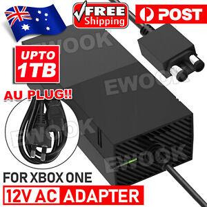 Up to 1TB AC Mains Power Supply Brick Adapter Charger Cord for Xbox One Console