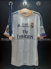 Ronaldo 7 Real Madrid Champion League Final 2014 home shirt jersey 2013 + medal