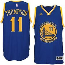 Golden State Warriors adidas NBA Youth Swingman Road Jersey Klay Thompson #11 L