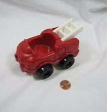 Fisher Price Little People RED FIREMAN'S FIRETRUCK Fire Man Truck STATION