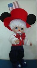 Precious Moments Disney Mickey Mouse American Spirit Doll #5240