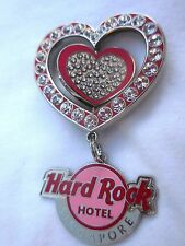 Hard Rock Cafe Singapore Hotel Valentines Day '10 Pin