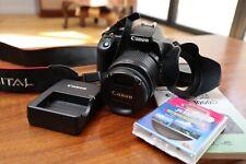 Canon EOS 1000D/Rebel XS 10.1MP Digital SLR-Negra (Kit con.. EF-S II
