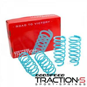 Godspeed Traction-S Lowering Springs For Fiat 124 Spider 2017-20