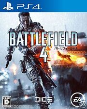 Used BATTLEFIELD 4 SONY PS4 PLAYSTATION JAPANESE IMPORT JAPANZON