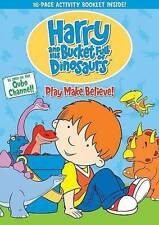 Harry and His Bucket Full of Dinosaurs: Play Make Believe, New DVDs