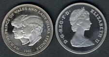 GREAT BRITAIN 25 New Pence 1981 Wedding Charles And Diana AG PROOF