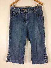 Regatta Petites Women 3/4 Short Jeans Blue Size 12