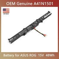 Genuine Battery A41N1501 For ASUS N552V N552VW N752 N752V N752VW GL752 GL752V CA