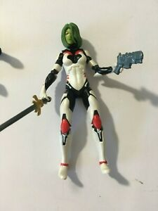 MARVEL LEGENDS GUARDIANS OF THE GALAXY- GAMORA  ACTION FIGURE LOOSE NEW 3.75 IN