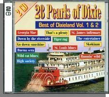 Pearls of Dixie: Best of Dixieland #1 & 2  - New Jazz, Pop, Dixieland Double CD!