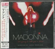 Madonna I'm Going to Tell You a Secret Japan Cd + Dvd w/obi Wpzr-30163-4